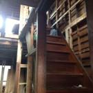 施工前・階段